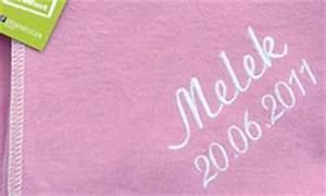 Babydecke Mit Namen Und Geburtsdatum : besticken von textilien f r baby und kinder badeponcho mit namen babydecke bestickt ~ Buech-reservation.com Haus und Dekorationen