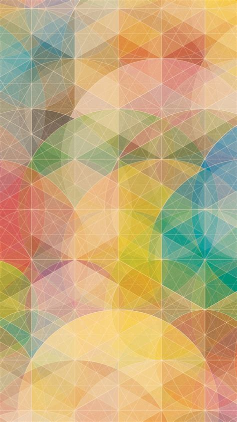 Colorful Geometric Patterns Best Htc One M9 Wallpaper