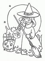 Witch Coloring Halloween Pages Printables Printable Witches Sheets Adult Colouring Kid Adults Tags Wuppsy Cat Excellent Pumpkin Davemelillo sketch template