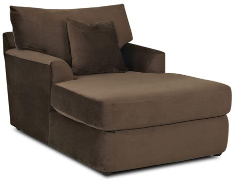Chaise Furniture by Contemporary Chaise Lounge By Klaussner Wolf Furniture
