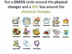 Physical And Chemical Change Clipart (67+)
