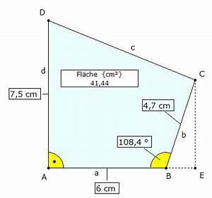 Trigonometrie Höhe Berechnen : mp forum berechnung einer vierecksfl che mit hilfe der trigonometrie matroids matheplanet ~ Themetempest.com Abrechnung