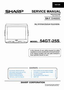 Sharp Lc37d44u Sm Service Manual Download  Schematics