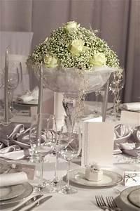 Tischdekoration Silberhochzeit Ideen : silberhochzeit deko ideen mit pfiff von tischdeko bis dekoration f r den saal ~ Frokenaadalensverden.com Haus und Dekorationen