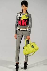 Quirky Neon Adorned Fashion LAMB Fall 2012