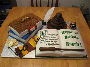 Sweet Cakes DC: Harry Potter Cake