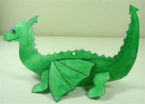 craft diary 23rd april 2014 stories and crafts 486   early years dragon craft