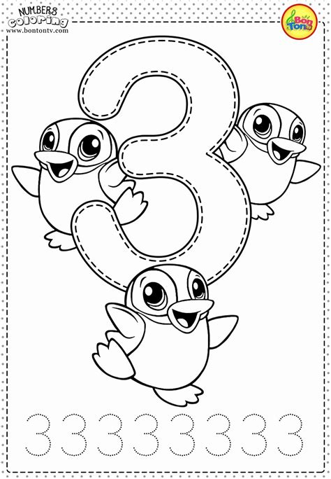 numbers   coloring pages coloring home