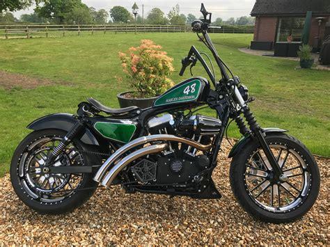 Harley Davidson Sportster 48 Custom Bobber Chopper • £