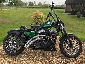 Bobber Harley Davidson : harley davidson sportster 48 custom bobber chopper 11 picclick uk ~ Medecine-chirurgie-esthetiques.com Avis de Voitures