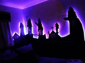nightmare before christmas themed room bedroom ideas