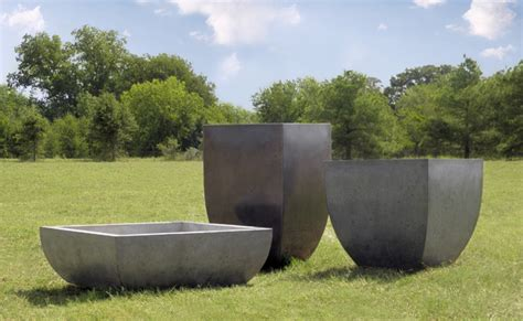 essentials series planter pots modern outdoor pots and