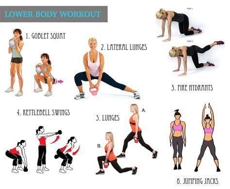 workout lower body workouts kettlebell exercise fitness routine kettle bell routines butt plan tips results dini cardio