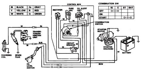 honda gx390 ignition coil wiring