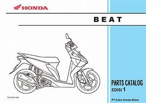 Part Catalog Honda Beat By Ahass Tunasjaya