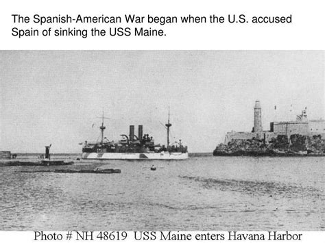 Uss Maine Sinking Theories by Ppt Alaska Purchase Powerpoint Presentation Id 6436787