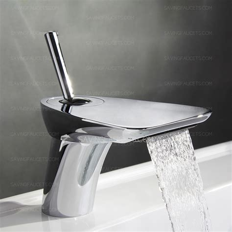 Best Waterfall Bathroom Waterfall Faucet Silver , $148.99