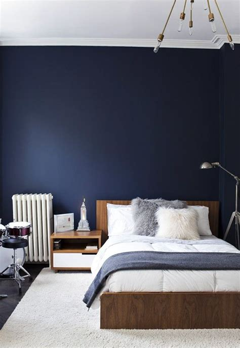 navy blue bedroom design ideas pictures