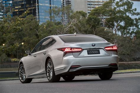 lexus ls sedan flagship launches  australia