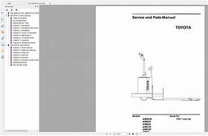Toyota Forklift Full Service Manual Dvd Updated 8 Series