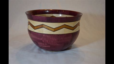woodturning  segmented bowl youtube