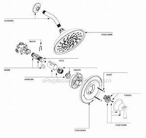 Moen 82968srn Parts List And Diagram   Ereplacementparts Com