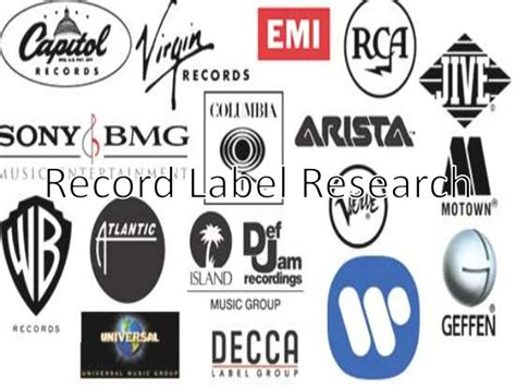 Record Label Research