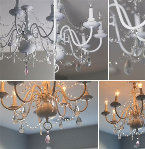 diy bedroom chandelier diy chandelier before after for s room