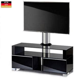 tv tisch schwarz vcm quot ravenna quot mit halterung m 246 bel lcd tv hifi standkonsole rack tisch schwarz kaufen bei lrk