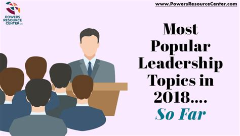 popular leadership training topics