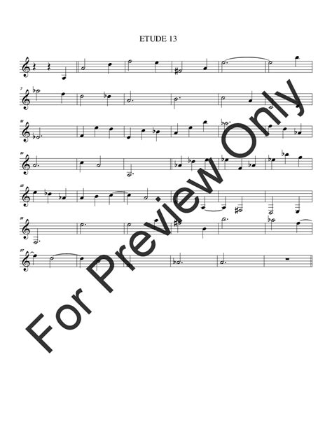 range of horn in f 28 images types of horns horn 14 etudes for horn horn in f method j w