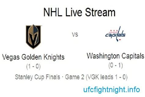| Ufc fight night, Nhl stanley cup finals, Stanley cup finals