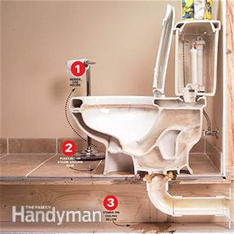 repair  leaking toilet  family handyman