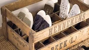 Idee Rangement Chaussure : boite de rangement pour chaussures ~ Teatrodelosmanantiales.com Idées de Décoration