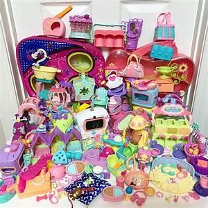 Littlest Pet Shop 8 Pc Random Lot Lps Accessories