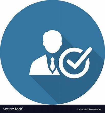 Icon Recruitment Concept Flat Business Vector Vectors