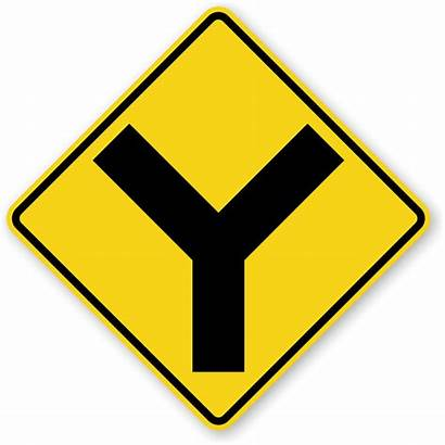 Sign Diamond Traffic Road Intersection Symbol Warning