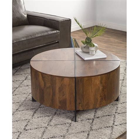 Choose from contactless same day delivery, drive up and more. Reiban Coffee Table | Driftwood coffee table, Round coffee table, Coffee table with storage