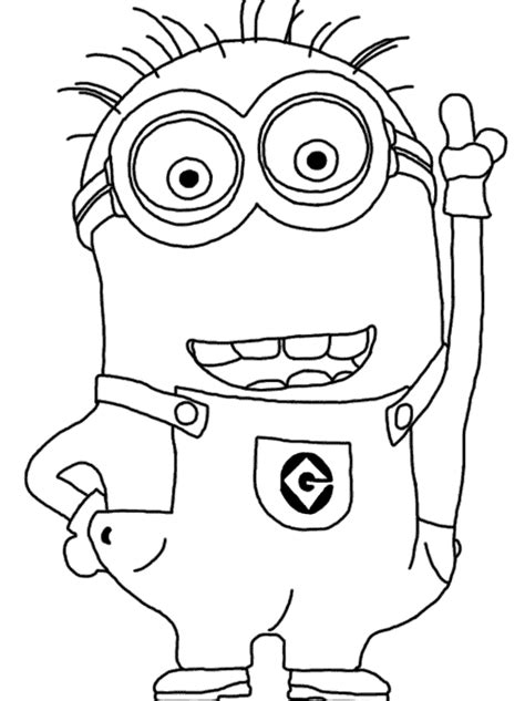 minion coloring pages party favors minion coloring