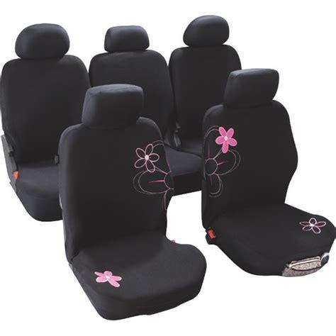 housse de siege de voiture housses de siège voiture adaptables fleurs taille 4 custo