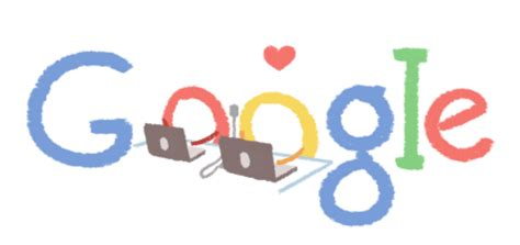 love quotes tech themed valentines day google logos