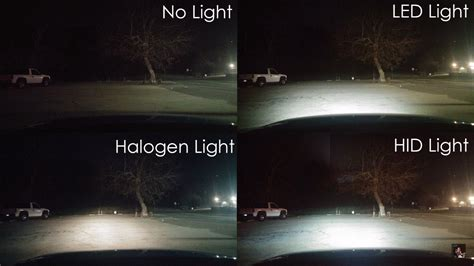 what is better halogen xenon or led headlights