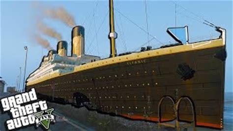 1912 rms titanic hq add on gta5 mods
