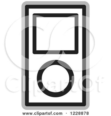 ipod clipart black and white royalty free rf ipod clipart illustrations vector