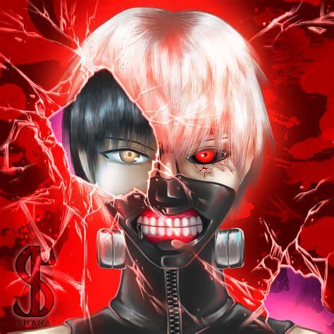 Ken Kaneki Tokyo Ghoul On Behance