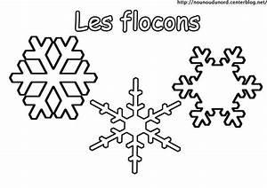 Flocon De Neige En Papier Facile Maternelle : coloriage les flocons ~ Melissatoandfro.com Idées de Décoration