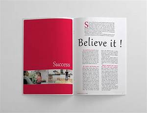 24 pages business magazine template on behance for Magazine templates for pages