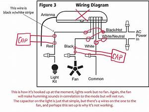 3 Speed Ceiling Fan Switch