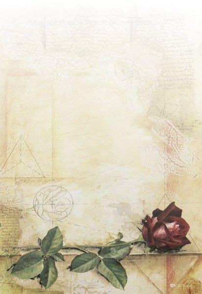 papier  lettres roses rouges page