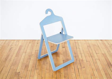 philippe malouin designs space saving hanger chair hybrid
